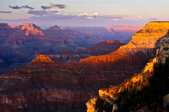 Yavapai sunset - Arizona, USA - 2010