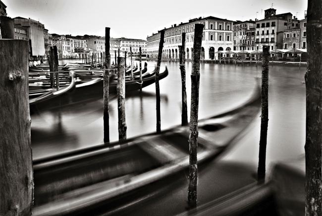 Venice and gondolas, Venice - Italy, 2011