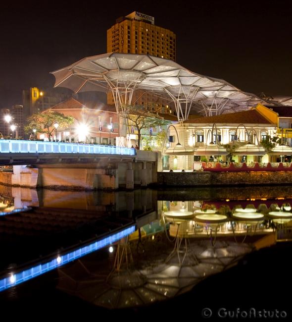 Clarke Quay, Singapore, 2009